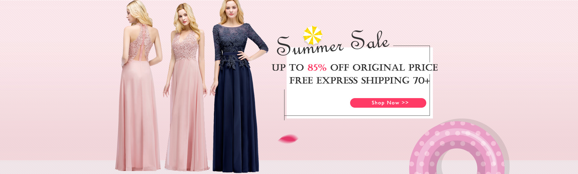 evening dresses summer sale
