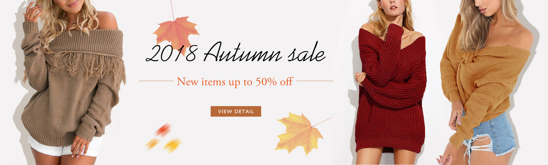 Autumn Sales 2018