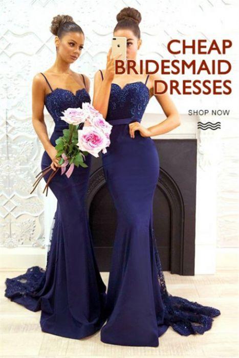 New In Bridesmaid Dresses