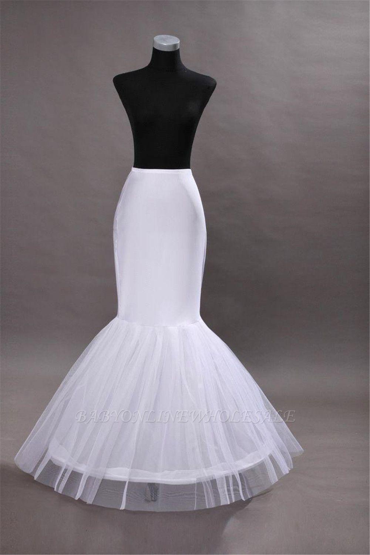 Glamorous Taft Meerjungfrau Hochzeit Petticoats
