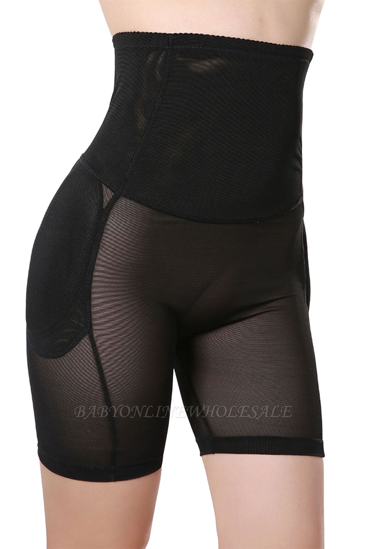 Daily Wear Chinlon&Polyester Black Women's Shaper-Briefs Shapewear