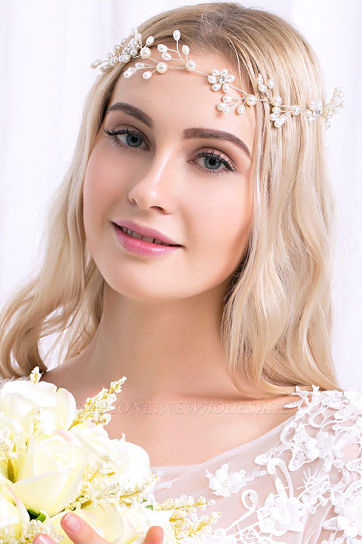 Alliage mignon et perles d'imitation occasion spéciale et partie épingles à cheveux Headpiece avec strass