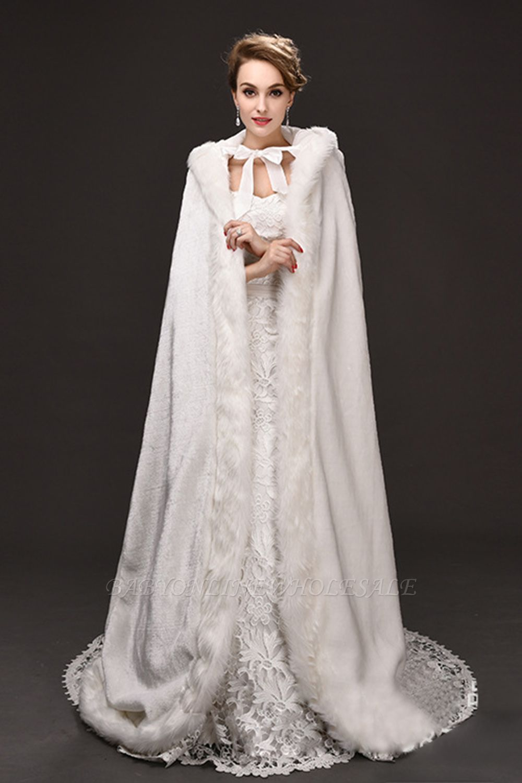 Warm Luxury Tulle  Ivory Sleeveless Casual Cathedral Wedding Wraps