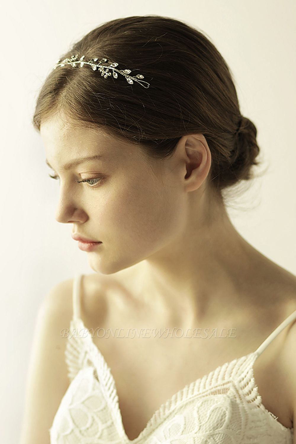 Elegant Alloy&Rhinestone  Special Occasion &Wedding Headbands Headpiece with Crystal