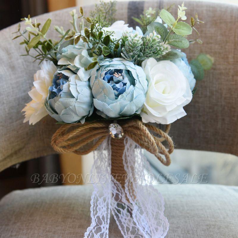 Свадебный букет из натуральных камней
