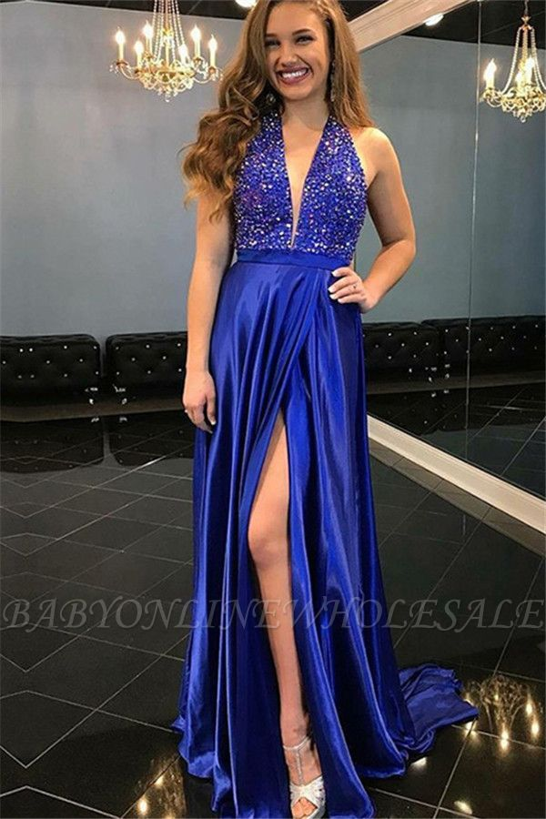 Stunning Shining Sequins Off-the-Shoulder Prom Dresses | Ruffles Sleeveless Mermaid Sexy Evening Dresses