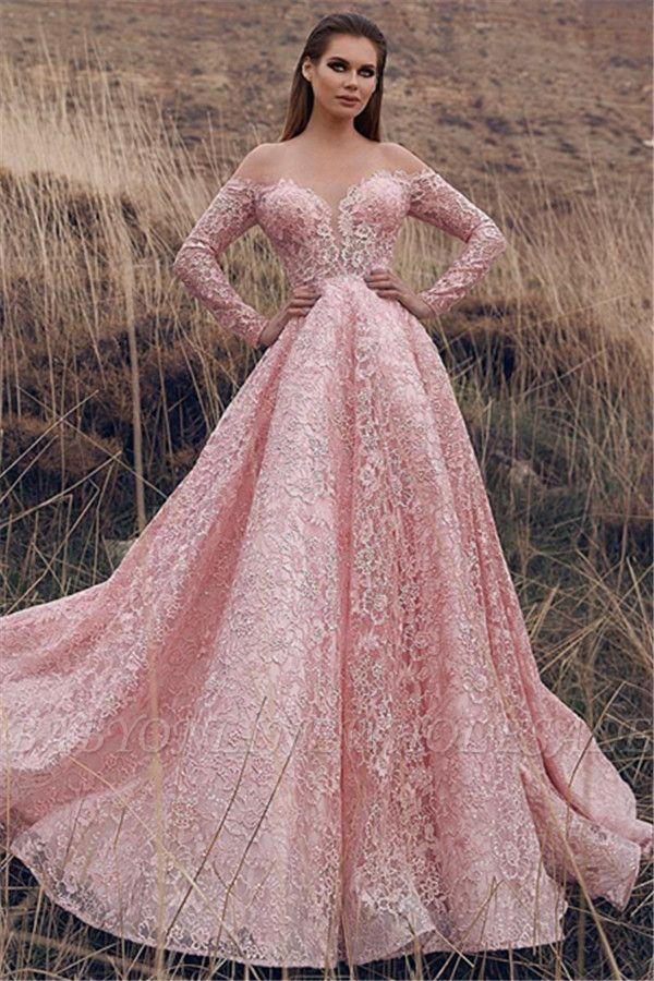 Designer Abendkleider mit Spitze armel | Abendkleid Lang ...