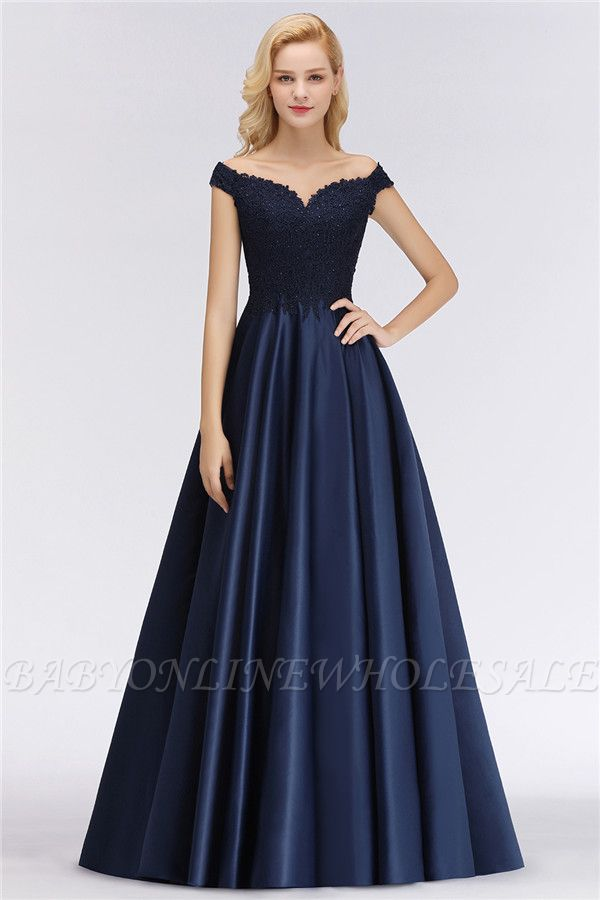 Elegant Off-the-Shoulder Ruffles Beads Sleeveless Bridesmaid Dresses