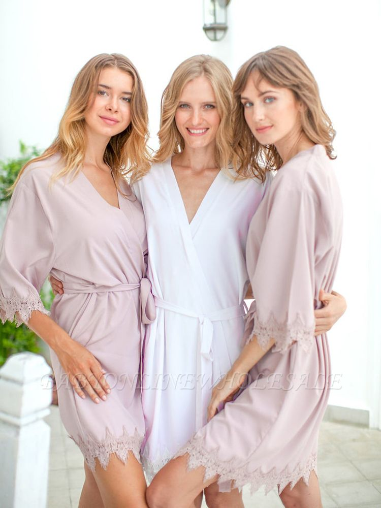 Adult Satin Bridal Robes Silk Floral Robe Dressing Gown Bridesmaid Robes bachelorette gifts Bridal Party Robes