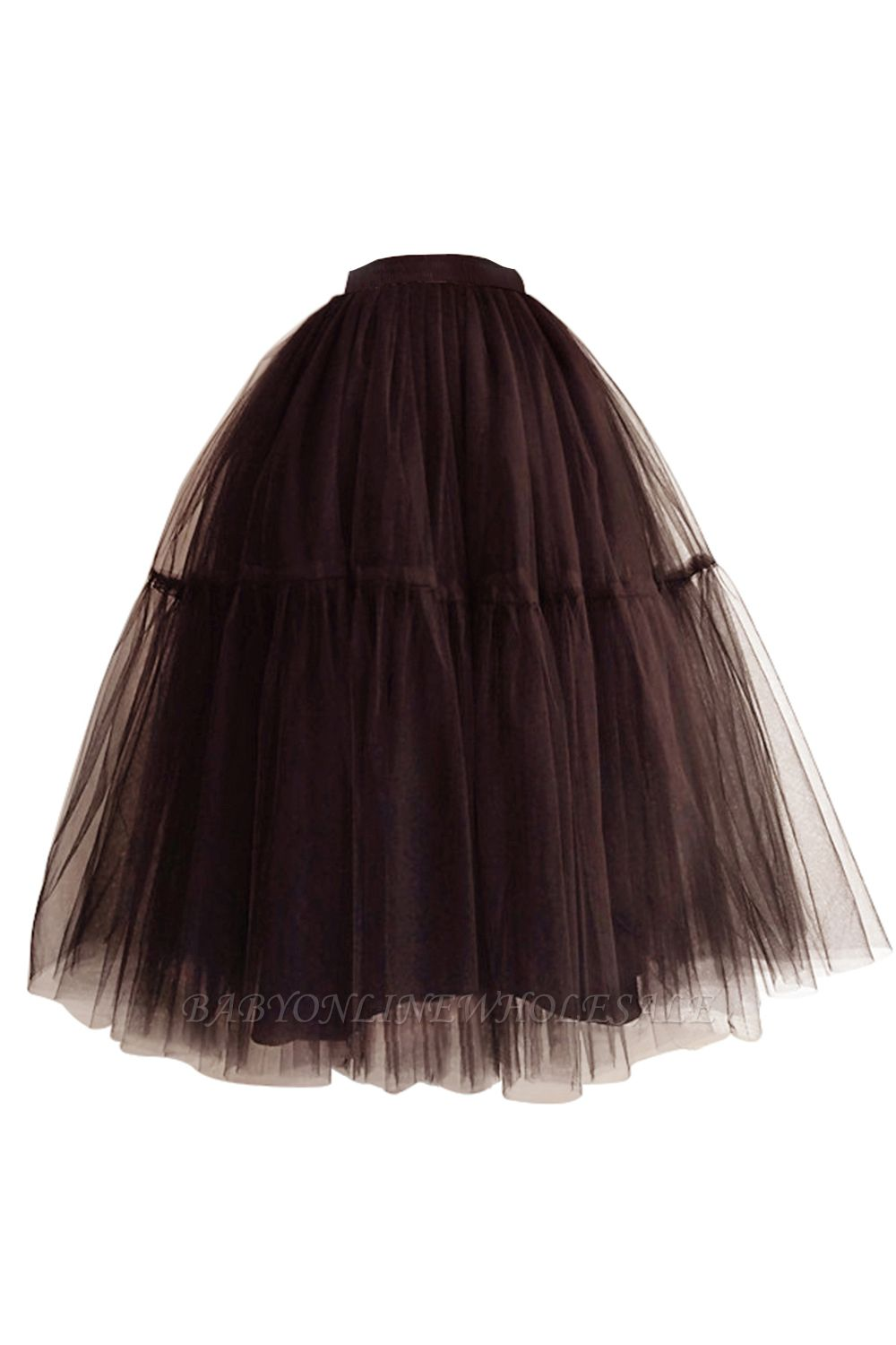Bambi | Black Ball Gown Petticoat