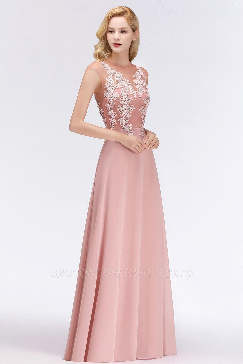 Cap Sleeve Lace Appliques Beads Slim A-line Evening Prom Dress for Women