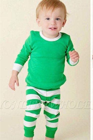 Подходящие семейные рождественские пижамы для мальчиков и девочек, детская одежда для сна в полоску, детская одежда