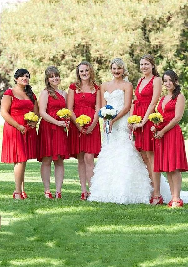 Red Multiway Infinity Dress