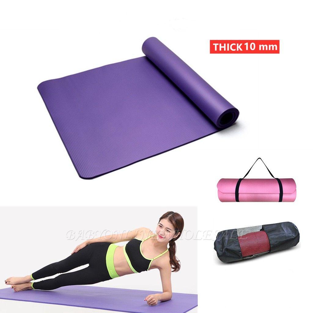 EVA Yoga Mat Non Slip Carpet Pilates Gym Sports Exercise Pads for Beginner Fitness Environmental Gymnastics Mats