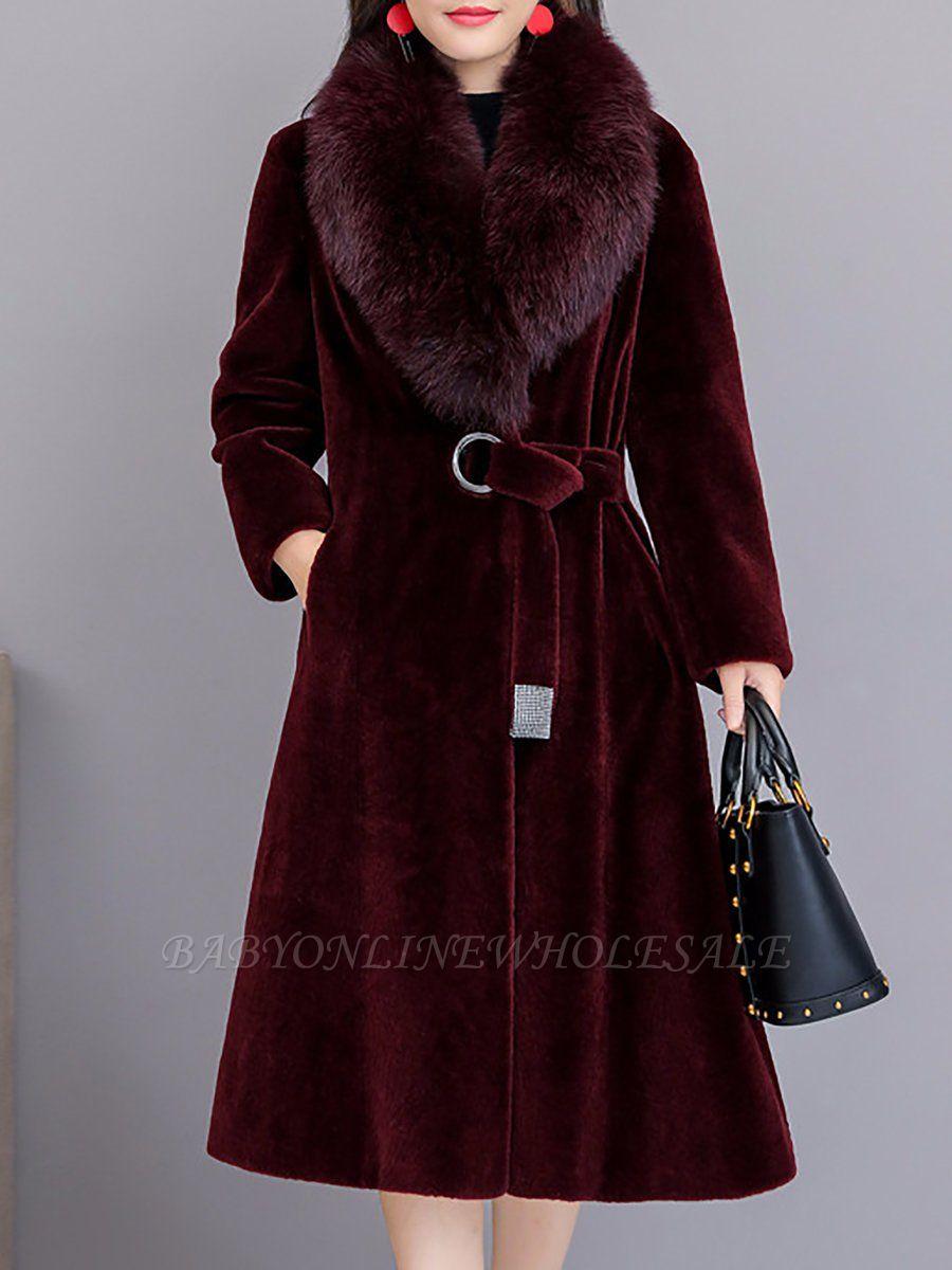 Manteau col fourrure et manteaux en peau de mouton
