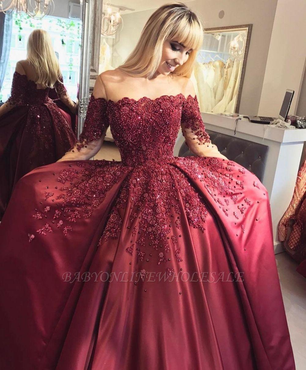 Elegante Abendkleider Mit armel | Spitze Abendmoden ...