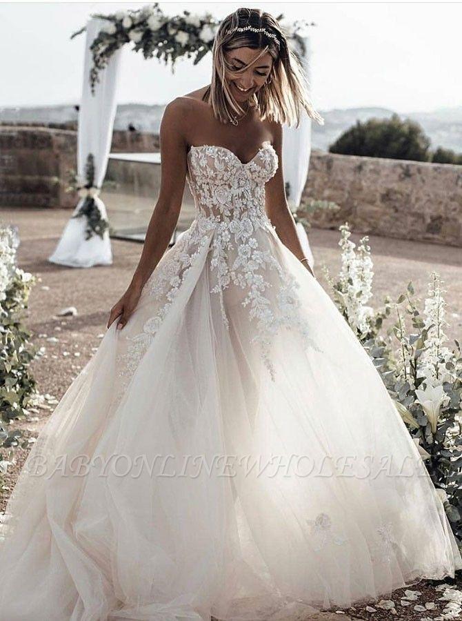 بسيط الأبيض الحبيب بوهو الصيف شاطئ فساتين الزفاف