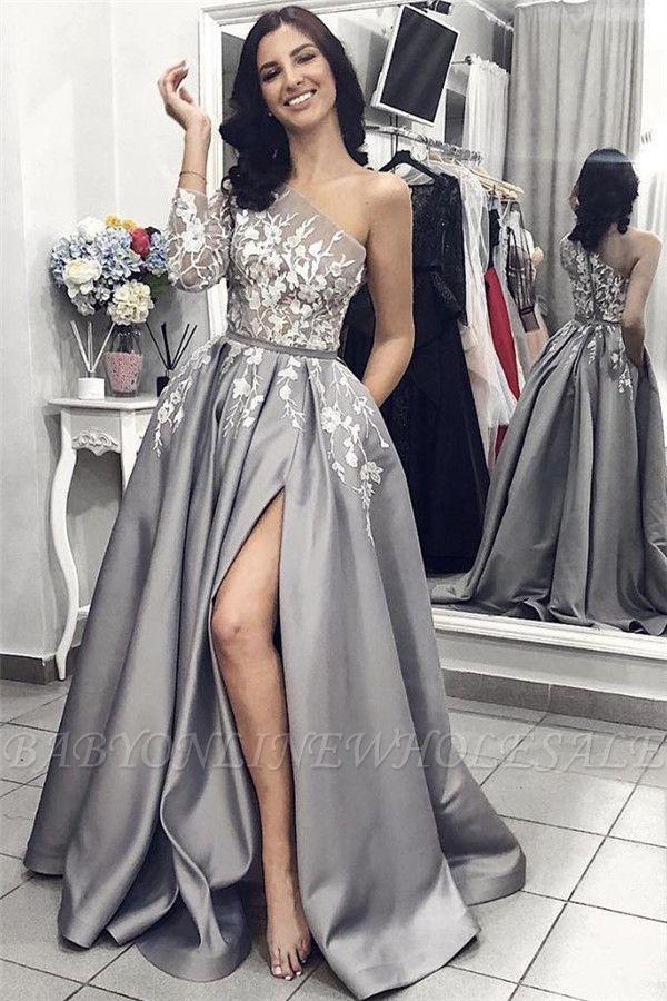 Elegante Abendkleider Lang Mit Ärmel | Abendkleid mit Spitze