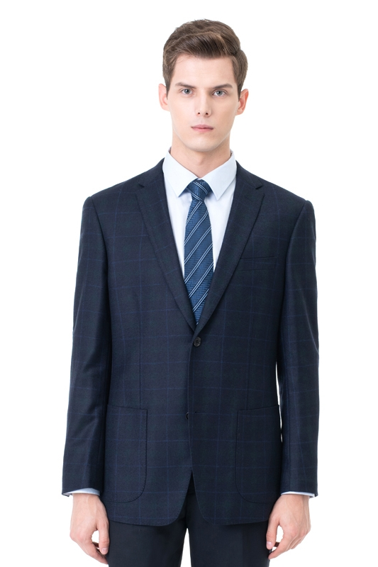 Two-piece Suit Two Button Single Breasted Peak Lapel Fashion Groomsmen