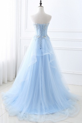 Paillettees Bleue Robe Promo Sweetheart Tulle_3
