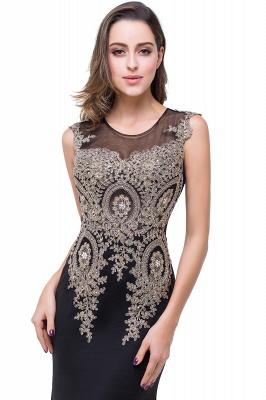 ADDISYN | Mermaid Floor-length Chiffon Evening Dress with Appliques_16
