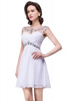 AITANA | A-line Jewel Chiffon Party Dress With  Crystal_10
