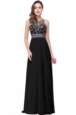 ADALYN | A-line Jewel Chiffon Prom Dress with Beading Crystal_3
