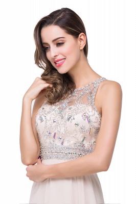 ADALYN | A-line Jewel Chiffon Prom Dress with Beading Crystal_9