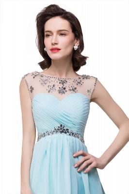 AITANA | A-line Jewel Chiffon Party Dress With  Crystal_5