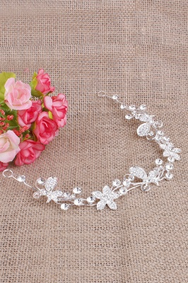 Elegant Alloy Special Occasion&Party Hairpins Headpiece with Rhinestone_4