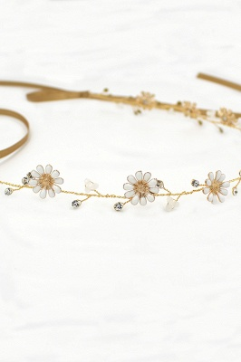 Floral  Alloy Party Headbands Headpiece with Rhinestone_5