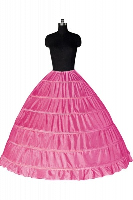 Bunte Taft Ballkleid Party Petticoats_3
