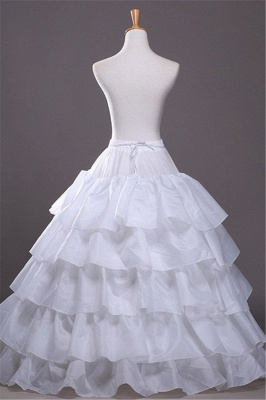 Netter Taft überbackene Rand Ballkleid Partei Petticoats_1