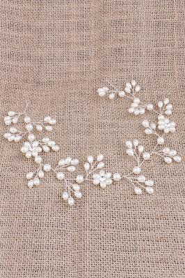 Alliage mignon et perles d'imitation occasion spéciale et partie épingles à cheveux Headpiece avec strass_4