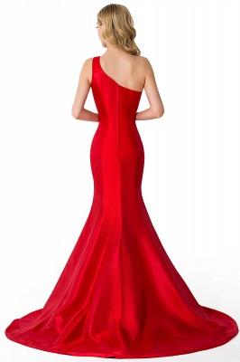 AILEEN | Mermaid One Shoulder Satin Evening Dress_5