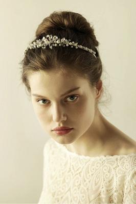 Elegante Legierung Nachahmungen von Perlen Besondere Anlässe & Hochzeit Haarnadeln Kopfschmuck mit Kristall Strass_4