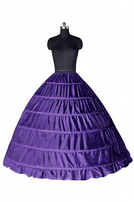 Bunte Taft Ballkleid Party Petticoats_6