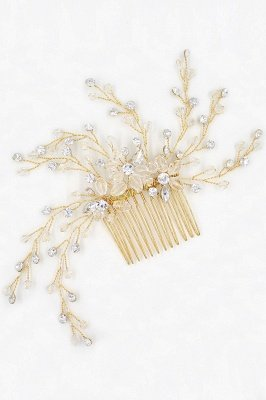 glamourous Alloy&Rhinestone Daily Wear Combs-Barrettes Headpiece with Crystal_1