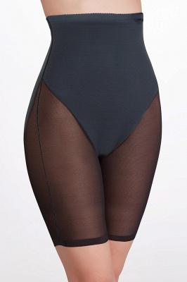 Горячие продажи Chinlon & полиэстер черный женщин Shaper-Briefs Shapewear