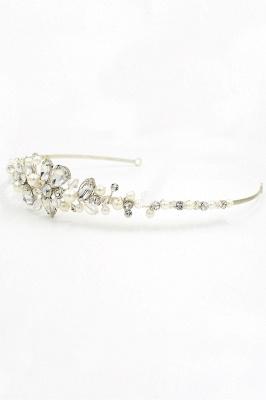 Elegante Legierung Nachahmungen von Perlen Besondere Anlässe & Hochzeit Haarnadeln Kopfschmuck mit Kristall Strass_10