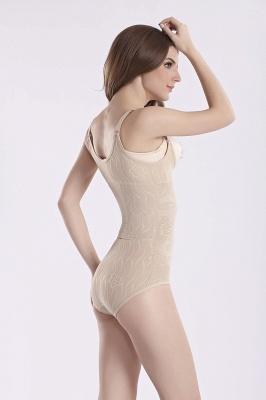 Элегантный нейлон и Чинлон женские камзолы Shapewear с цветочным принтом_5