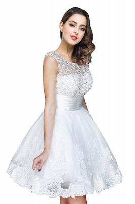 CELIA | A-Linie Juwel Tüll Partykleid mit Perlenstickerei_1