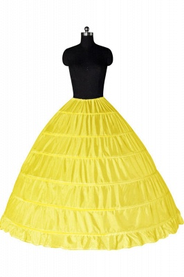 Bunte Taft Ballkleid Party Petticoats_5