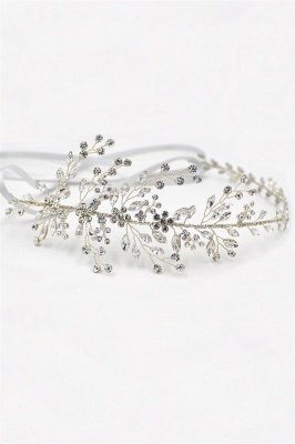 Elegant Alloy&Rhinestone  Special Occasion &Wedding Headbands Headpiece with Crystal_1