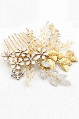 Elegant Alloy&Rhinestone Daily Wear Combs-Barrettes Headpiece with Crystal_7