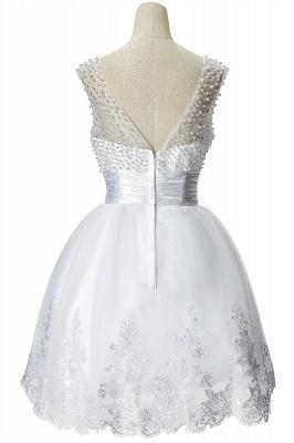 CELIA | A-Linie Juwel Tüll Partykleid mit Perlenstickerei_3