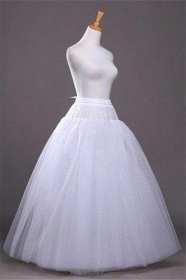 Günstige A-Linie Tüll Taft Hochzeit Petticoat_4