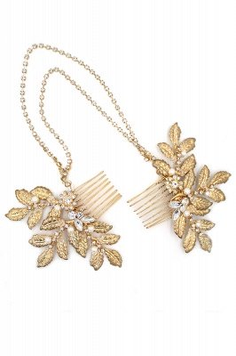 Lovely Alloy&Rhinestone Party Combs-Barrettes Headpiece with Imitation Pearls_5