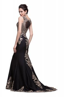 Elegante Schwarze Abendkleider Lang Günstig | Abendmoden Online Kaufen_7