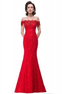 HALLIE | Русалка Off-the-плечо длиной до пола, кружевные платья невесты с кристаллами_1